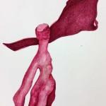 Sin título. 42x30 cm. Técnica mixta sobre cartulina. 2014